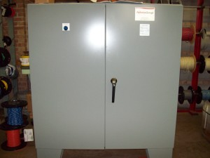 Computer panel front